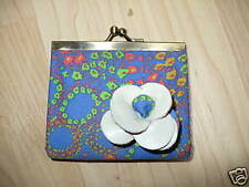 NEW LOOP NYC MAHALO MINI FLOWER COIN PURSE HAWAII URBAN