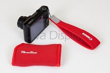 Canon PowerShot Protection Bag and Padded Hand Strap for S100 S95 ELPH 300HS NEW