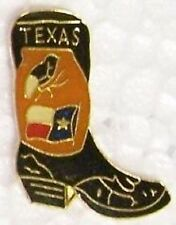 Hat Lapel Pin Tie Tac Western Cowboy Boot NEW