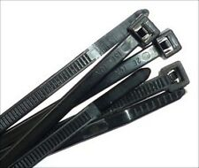 """11""""  USA MADE Black Cable Ties   QTY 500 - 50lb  zip or wire Tie New"""