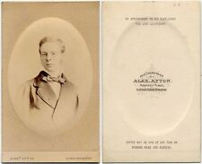 YOUNG BOY WITH STRIPED BOW TIE LONDONDERRY BY AYTON CDV