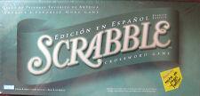Scrabble Edición en español Spanish Edition Family Game Crossword Game NEW