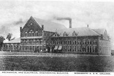 Photo.  1917. Mississippi A&M - Mechanical & Electrical Engineering Building