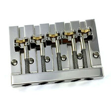 Hipshot Nickel 5-String KICKASS™ Version 1 Bass Bridge Badass V® Retrofit 5K501N