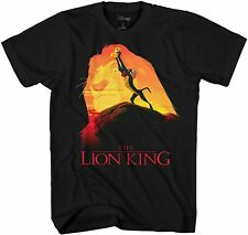 Lion King Pride Rock Rafiki Simba Adult Tee Graphic T-Shirt for Men Tshirt