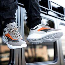 Alpine Swiss Stuart Mens Chunky Sneakers Retro Platform Dad Tennis Shoes