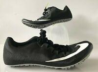 Nike Zoom JA Fly 3 Track Spikes Black Volt Dark Grey White SZ 12 (865633-017)