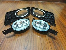 Clear Bumper Fog Lights Lamps + Bezels Kits For Honda Civic 2012-2013