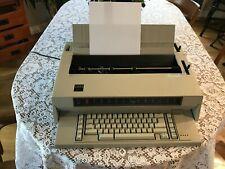 Vintage Ibm Wheelwriter 3 674x Electronic Typewriter 1984 With Ac Cord