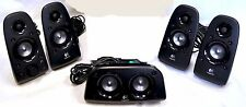 Logitech Z506 Stereo Surround Sound Speakers 75w  home theater pc NO SUBWOOFER
