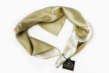 Corneliani Mens 100% Silk Neck Scarf Square Foulard Gift For Him Made in Italy