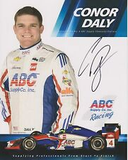 Indianapolis 500 Driver CONOR DALY Signed Indy Team Hero Card