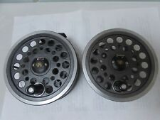 """A1 vintage youngs 1540 wide drum expert salmon fly fishing reel 4.25""""  + spool"""