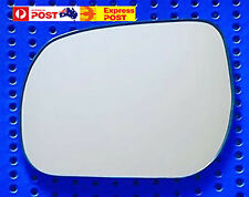 Left side mirror glass to suit Toyota Tarago 2006 onward Convex with base