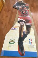 Michael Jordan Cardboard Stand-Up Life Size Authenticated Upper Deck Vtg 1996