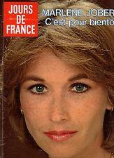 JOURS DE FRANCE N°1330 marlene jobert andré leducq sacha distel