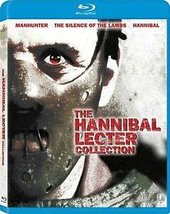 The Hannibal Lecter Collection (1986-2001) Blu-Ray Disc Manhunter Silence Lambs