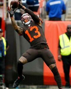 ODELL BECKHAM JR 8X10 PHOTO CLEVELAND BROWNS PICTURE NFL FOOTBALL CATCH