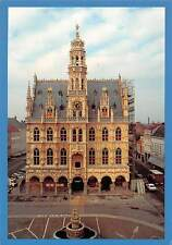 Belgium Oudenaarde Stadhuis Hotel de Ville Town Hall Front view Cars