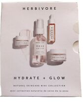 New Herbivore Hydrate&Glow Natural Skincare Mini Collection - 4 Items