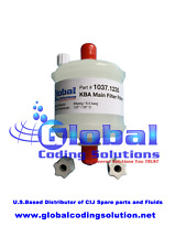 1037.1235 Main Filter KBA Metronic® / Gem Gravure® printer