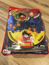 Irwin Dragon Ball Z Action Figure Android 18 Androids Saga Goku Medallions Rare