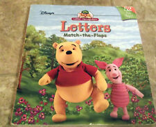 Disney's The Book of Pooh - Letters Match-the-Flaps with Winnie the Pooh+Friends