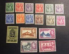 St. Lucia #110-#126, Mint, Hinged, OG