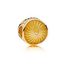 PANDORA Shine 767128EN158 Charm Sonnenstrahlen 925 Sterlingsilber/ 18K vergoldet