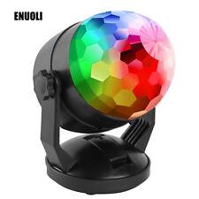 LED Ball USB Rotating Stage Lighting Car DJ Club Disco KTV Party Bar RGB Crystal