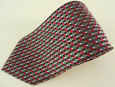 Bergamo New York Necktie Geometric Multicolor Polyester Mens Tie Men Classic Men
