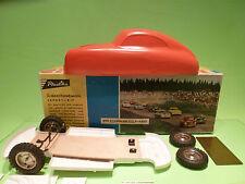 PLASTIKA PORSCHE 356 B 356B - SCHNELLBAUKASTEN  - RARE SELTEN - GOOD IN BOX