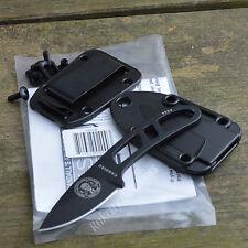 ESEE Candiru Fixed Blade Black 1095 Powder Coated Utility Knife CAN-B