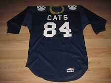 Vintage 1970's Spanjan Wildcats Throwback Football Jersey/Free Shipping!