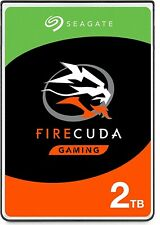 Seagate Firecuda 2To SSHD  Hybrid Hard Drive SSD+HDD Disque Dur 2To Mint