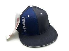 YAMAHA BLUE AND BLACK HAT CAP CRP-13HFB-ST-NS