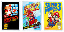 SUPER MARIO BROS NES COLLECTION OF 3 FRIDGE MAGNET IMANES NEVERA