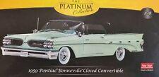 1959 Pontiac Bonneville Closed Convertible The Platinum Collection