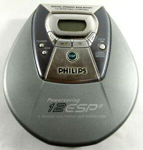 Philips Baladeur Lecteur CD Discman Portable 12 ESP3 CD Rewritable  Envoi suivi