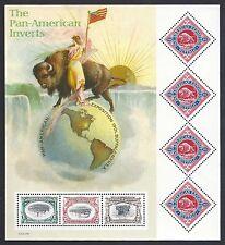 STATI UNITI 2001 Minifoglio Centenario Esposizione PAN Americana Buffalo MNH**