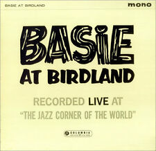 """Count Basie at Birdland 1961 LP 12"""" 33rpm UK rare mono Columbia vinyl record (f)"""