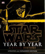 Star Wars Year by Year: A Visual History by Daniel Wallace (Hardback, 2016) NEW