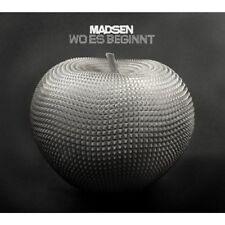 MADSEN - WO ES BEGINNT  CD NEU +++++++++++++++++++
