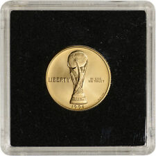 1994-W US Gold $5 World Cup Commemorative BU - Coin in Square Holder