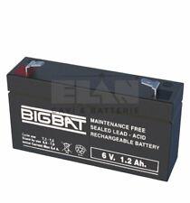 Batteria ricaricabile al piombo  6 V da 1,2 a 12 Ah Made In Italy Alta qualità