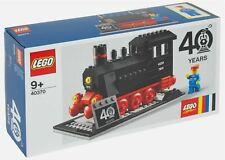 NEW LEGO 40370 TRAIN SET 40th ANNIVERSARY STEAM ENGINE VIP EXCLUSIVE 7810