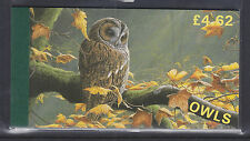 GB BOOKLET.   ISLE OF MAN OWLS, INCLUDES THE HONG KONG 97 PANE. SUPERB CONDITION