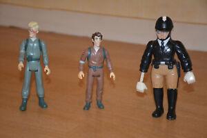 Lot de 3 figurines vintage GHOSTBUSTERS, SOS Fantômes