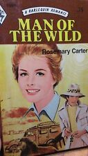 vintage Harlequin Romance Man of the Wild by Rosemary Carter #1986
