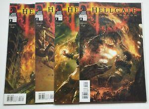 Hellgate London Complete Set #0 to 3 (2006) - Edginton & Pugh - Dark Horse